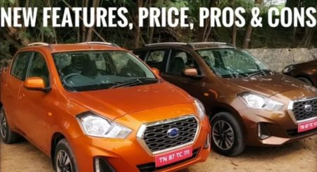 VIDEO: New 2018 Datsun Go / Go Plus Facelift First Impressions, Quick Review, Price & Features