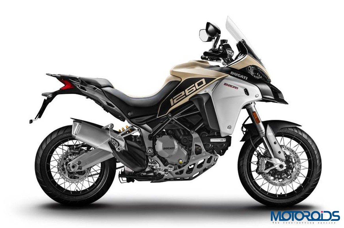Ducati Multistrada 1260 Enduro 2019 Sand Colour