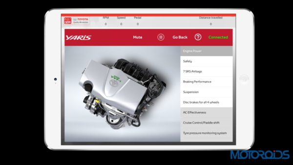 Toyota Engine Power iPad
