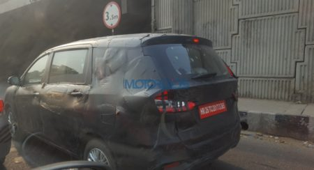 Spied: New Generation Maruti Suzuki Ertiga, Launch Next Month