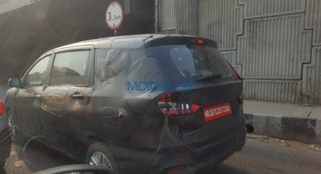 Spied: New Generation Maruti Suzuki Ertiga, Launch Next Month