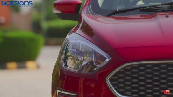 Ford Aspire headlight