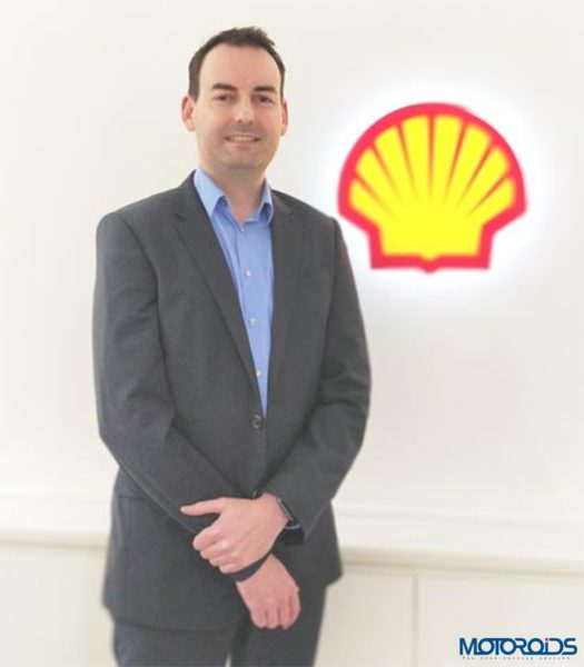 Shell Lubricants Gareth Flood Marketing Manager-