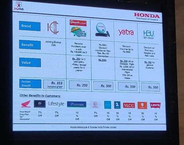 Honda Joy Club Loyalty Program (1)