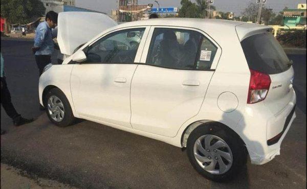 Hyundai Santro white