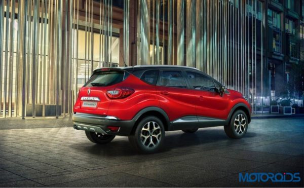 Renault Captur Radiant Red