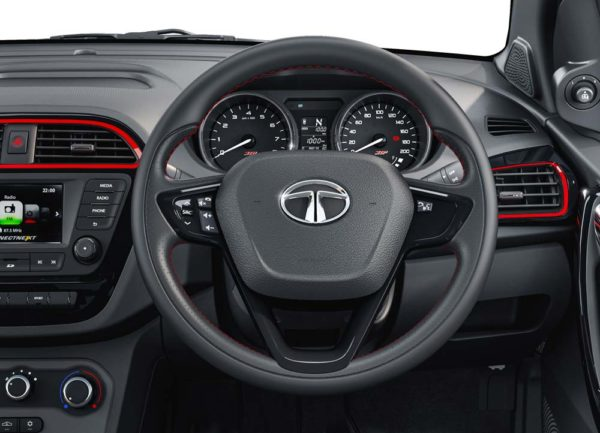 Tiago JTP steering