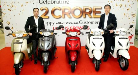 The Humble Honda Activa Scooter Crosses the 2 Crore Sales Mark