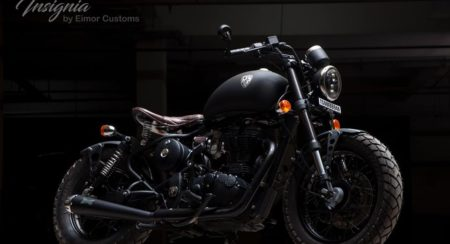The Insignia from Eimor Customs Is a Gentleman's Bobber
