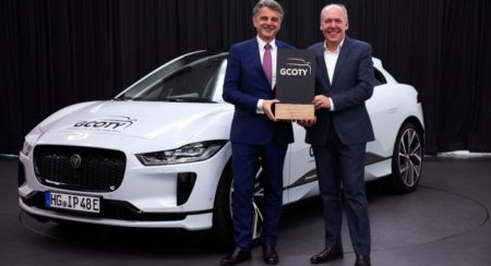 Defeating 58 Other Cars, the I-Pace Is Crowned the German Car of the Year