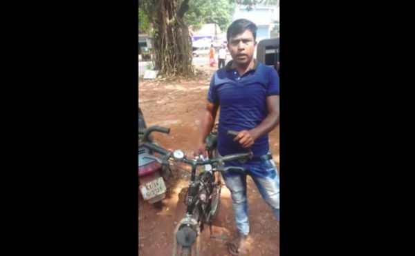 Kasim fined for speeding cycle