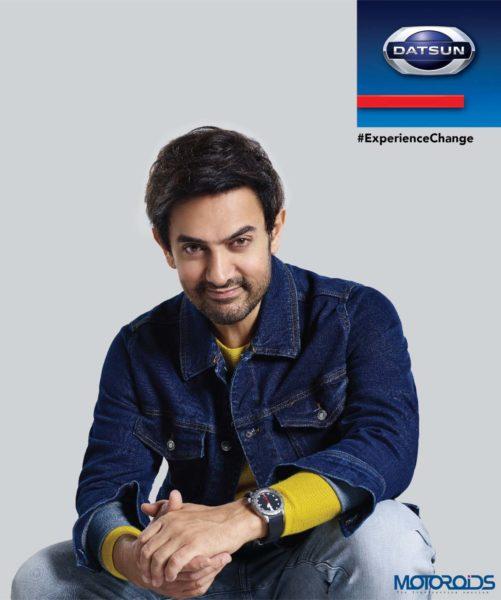 Aamir Khan Datsun