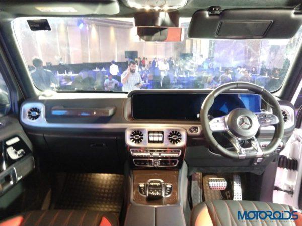 Mercedes-Benz G63 AMG 2018 Interior (1)