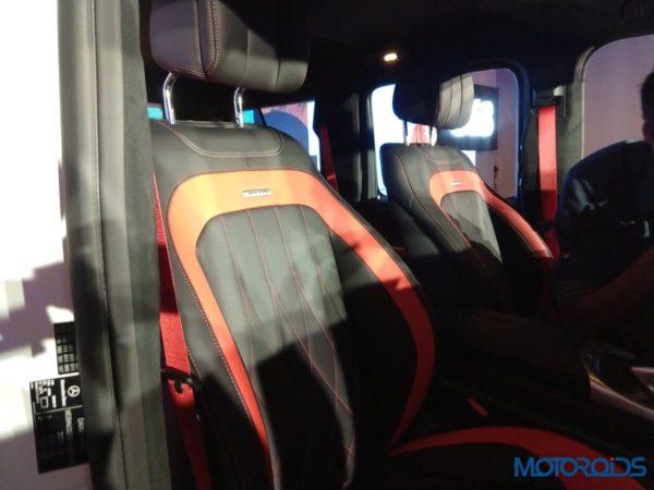 Mercedes-Benz G63 AMG 2018 Interior Front Seats