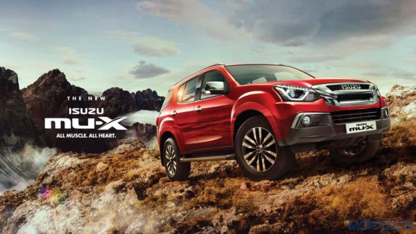 New 2019 Isuzu MU X wallpaper