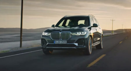 New BMW X7 featured
