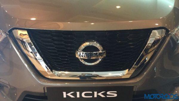 Nissan Kicks India V griller