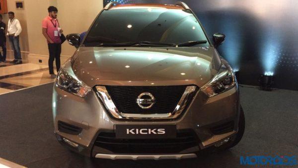 Nissan Kicks India dead front