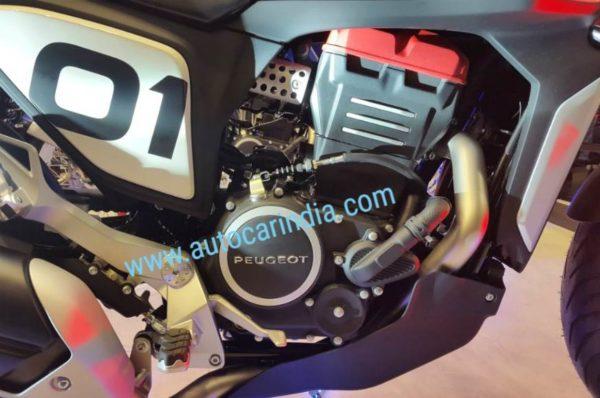 Peugeot P2x Cafe Racer engine
