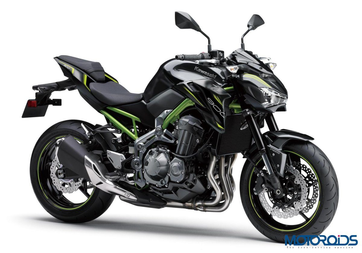 Kawasaki Z900 Metallic Black
