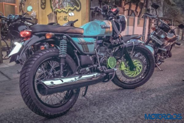 Yamaha RX135 Gets A Makeover And Turned Into A Modern Classic