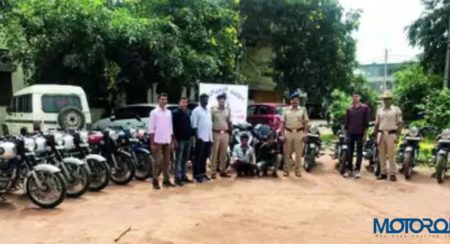 Varthur Motorcycle Thieves