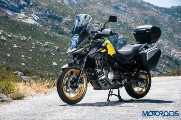 2018 Suzuki V-Strom 650 XT ABS Black & Yellow
