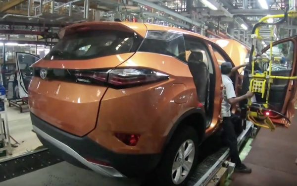 Tata Harrier assembly line