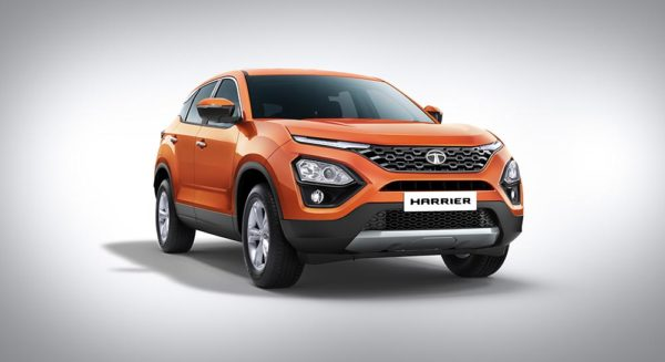 Tata Harrier front quarter