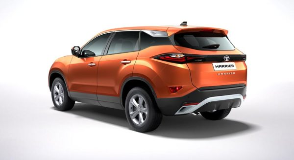 Tata Harrier rear quarter