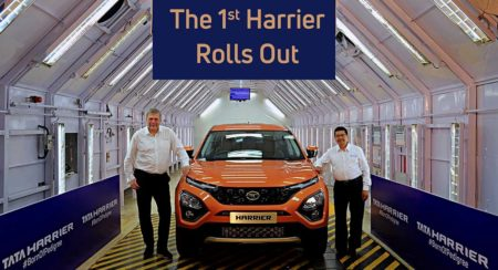 Tata Harrier To Be Offered With Manual Gearbox And FWD Initially; 7-Seater with 4WD & Auto Box To Follow Soon