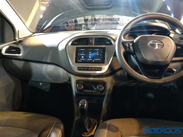 Tata Tigor Facelift launch dash from rear