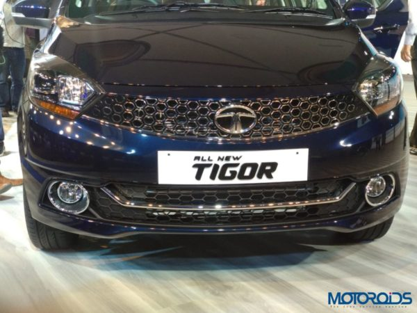 Tata Tigor Facelift launch front low