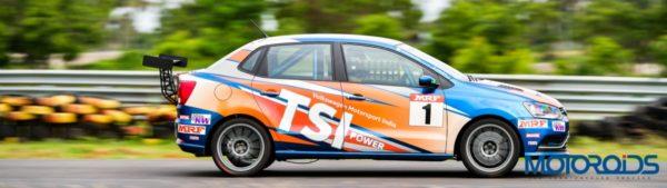 Volkswagen Motorsports Ameo Side Shot
