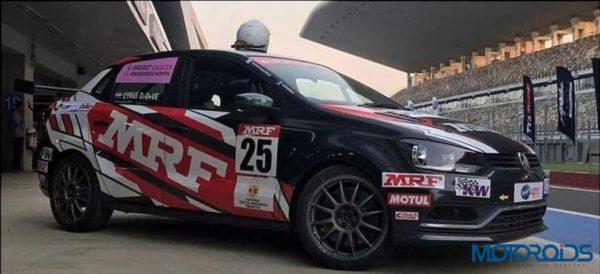 Volkswagen Motorsports Ameo Front Three Quarter