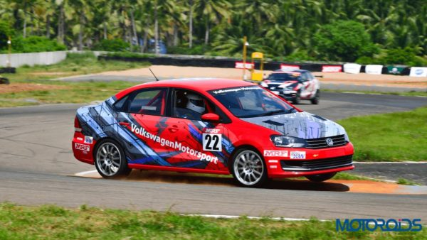 Volkswagen Motorsports Vento Side Three Quarter Shot