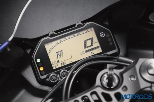 Yamaha R3 2019 LCD Instrument Cluster