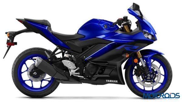 Yamaha R3 2019 Yamaha Blue Side