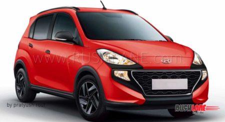 If Hyundai Made a Santro Active, to Take on The Tiago NRG