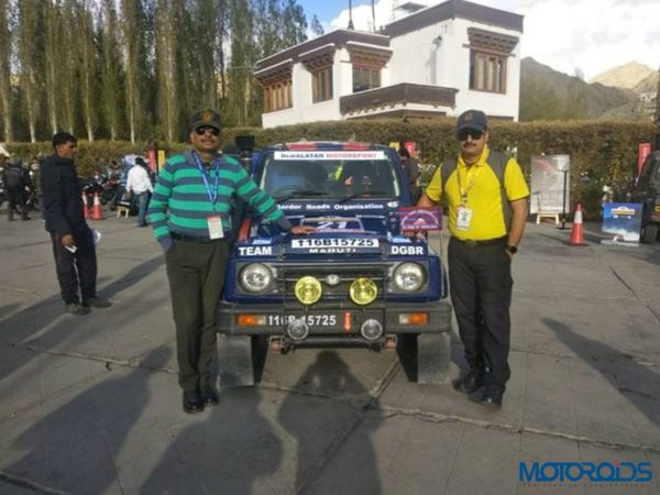 Raid de Himalaya 20th Edition Col Pradeep Sharma (left) and Lt Col Sanjay Rathee