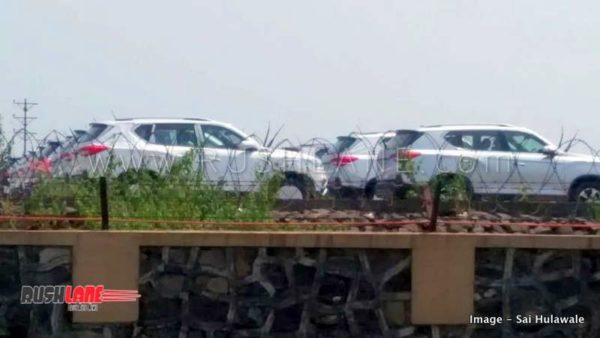 mahindra xuv700 production starts spied launch 2