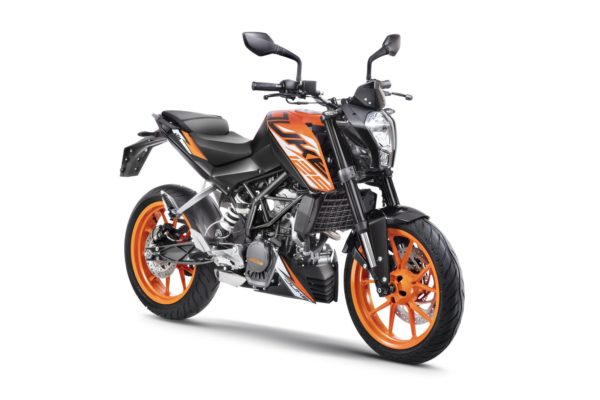 1. 125 Duke ABS Orange