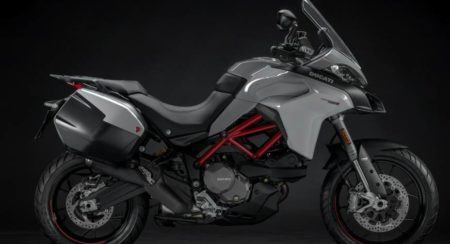 2019 Ducati Multistrada grey side