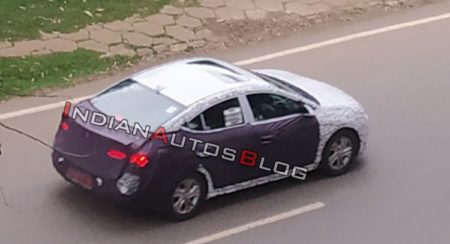SPIED: Facelift of the Hyundai Elantra Sedan, to Come out Next Year