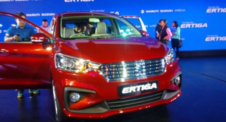 Starting from INR 7,44,000; Here Is the New 2019 Maruti Suzuki Ertiga
