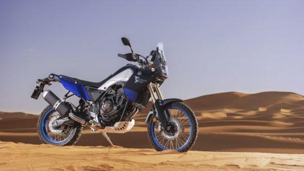 2019 Yamaha XTZ700 Tenere 700 side in sand
