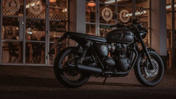 2019 triumph bonneville t120 ace side rear