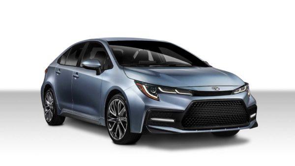 2020 toyota corolla sedan front quarter