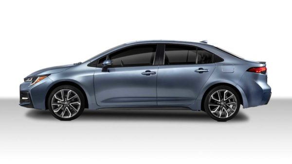 2020 toyota corolla sedan side profile