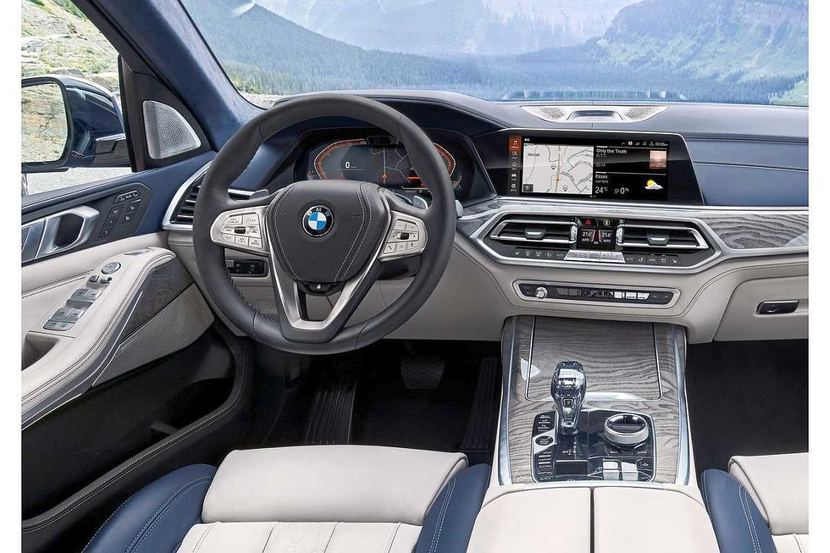 BMW X7 2019 dashboard (1)